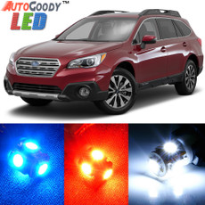 Premium Interior LED Lights Package Upgrade for Subaru Outback (2010-2019)