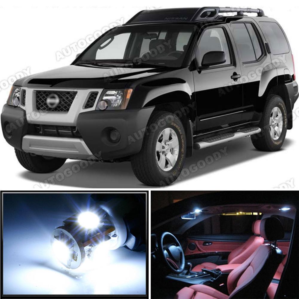6 Pcs White LED Lights Interior Package Kit for Nissan Sentra 2007-2012