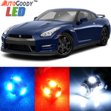Premium LED Lights Interior Package Upgrade for Nissan GTR (2009-2019)