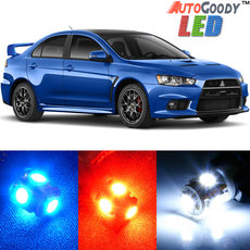 Premium Interior LED Lights Package Upgrade for Mitsubishi Lancer Evolution X (2008-2015)