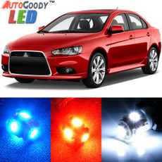 Premium Interior LED Lights Package Upgrade for Mitsubishi Lancer (2007-2019)