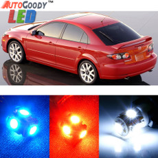 Premium Interior LED Lights Package Upgrade for Mazda 6 Mazda6 (2003-2008)
