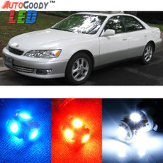 Premium Interior LED Lights Package Upgrade for Lexus ES300 (2000-2001)