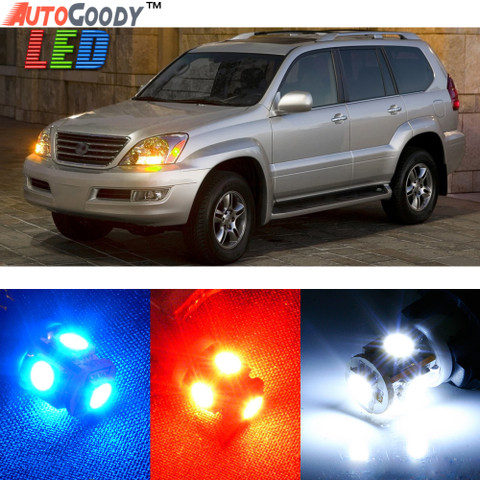 Premium Interior LED Lights Package Upgrade for Lexus GX470 (2003-2009)