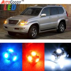 Premium Interior LED Lights Package Upgrade for Lexus GX470 (2003-2009)