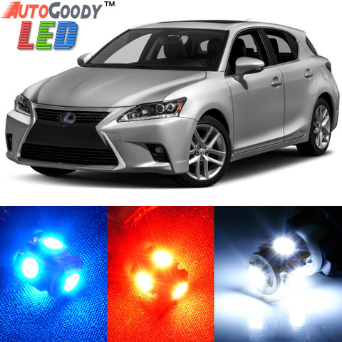Premium Interior LED Lights Package Upgrade for Lexus CT200h (2011-2017)