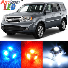 Premium Interior LED Lights Package Upgrade for Honda Pilot (2009-2015)