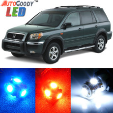 Premium Interior LED Lights Package Upgrade for Honda Pilot (2006-2008)