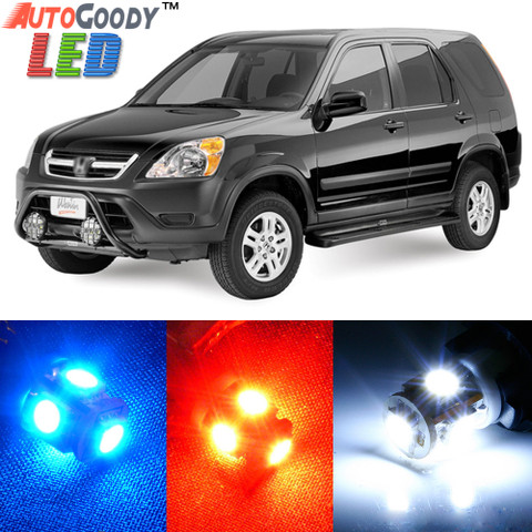 Premium Interior LED Lights Package Upgrade for Honda CRV (2002-2006)