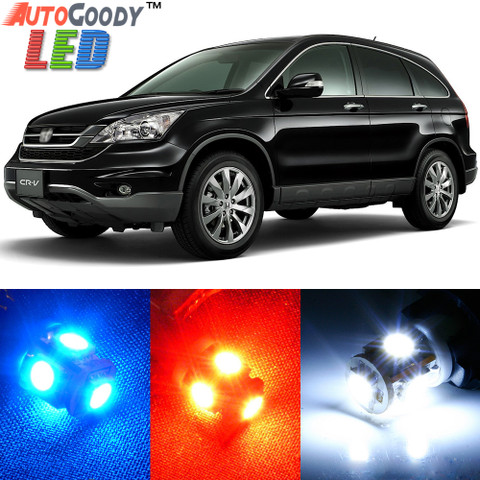 Premium Interior LED Lights Package Upgrade for Honda CRV (2007-2011)