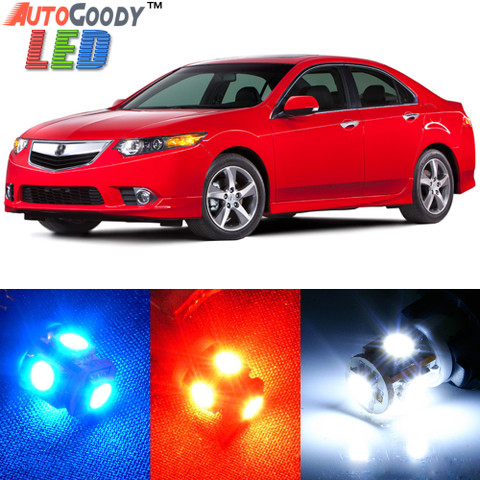 Premium Interior LED Lights Package Upgrade for Acura TSX (2009-2014)