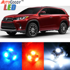 Premium Interior LED Lights Package Upgrade for Toyota Highlander (2014-2019)