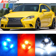 Premium Interior LED Lights Package Upgrade for Lexus IS200t IS250 IS300 IS350 (2014-2019)