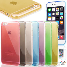 "0.3mm Ultra Thin Semi Transparent Soft Gel Case for iPhone 6 (4.7"") #48"
