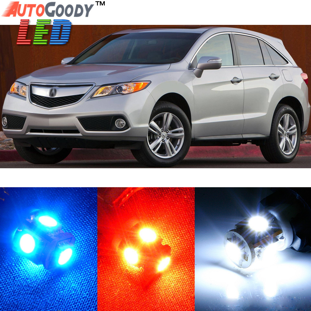 Premium Interior LED Lights Package Upgrade For Acura RDX