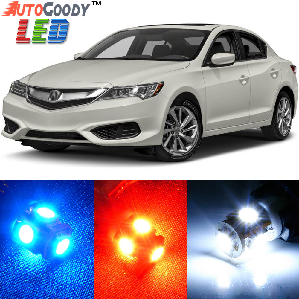 Premium Interior LED Lights Package Upgrade For Acura ILX