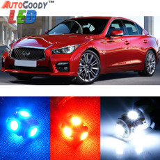 Premium Interior LED Lights Package Upgrade for Infiniti Q50 Q60 (2014-2019)