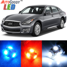 Premium Interior LED Lights Package Upgrade for Infiniti Q70 (2013-2017)