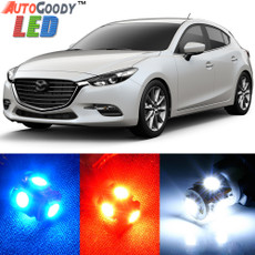 Premium Interior LED Lights Package Upgrade for Mazda 3 Mazda3 (2010-2017)