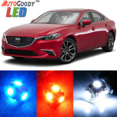 Premium Interior LED Lights Package Upgrade for Mazda 6 Mazda6 (2009-2018)