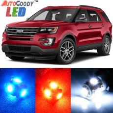 Premium Interior LED Lights Package Upgrade for Ford Explorer (2011-2019)