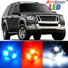 Premium Interior LED Lights Package Upgrade for Ford Explorer (2002-2010)