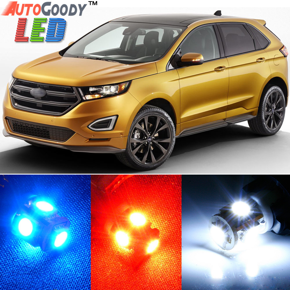 Hover Over Image To Zoom Premium Interior Led Lights Package Upgrade For Ford Edge