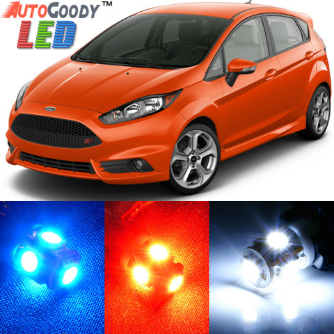 Premium Interior LED Lights Package Upgrade for Ford Fiesta (2011-2017)