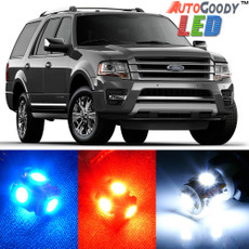 Premium Interior LED Lights Package Upgrade for Ford Expedition (1997-2019)