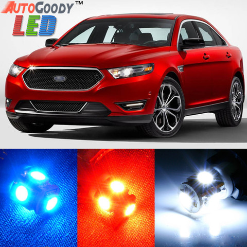 Premium Interior LED Lights Package Upgrade for Ford Taurus (2008-2019)