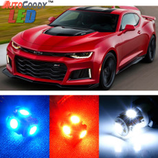 Premium Interior LED Lights Package Upgrade for Chevrolet Camaro (2010-2015)