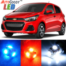 Premium Interior LED Lights Package Upgrade for Chevrolet Spark (2013-2017)