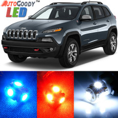 Premium Interior LED Lights Package Upgrade for Jeep Cherokee (2014-2019)