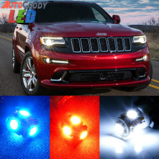 Premium Interior LED Lights Package Upgrade for Jeep Grand Cherokee (2011-2019)