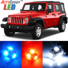 Premium Interior LED Lights Package Upgrade for Jeep Wrangler (2007-2019)
