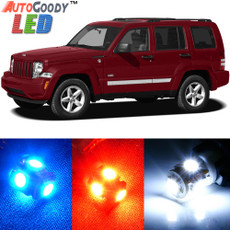 Premium Interior LED Lights Package Upgrade for Jeep Liberty (2008-2013)