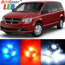 Premium Interior LED Lights Package Upgrade for Dodge Grand Caravan (2008-2019)
