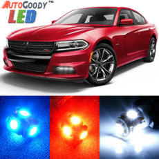 Premium Interior LED Lights Package Upgrade for Dodge Charger (2006-2019)