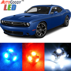 Premium Interior LED Lights Package Upgrade for Dodge Challenger (2008-2019)