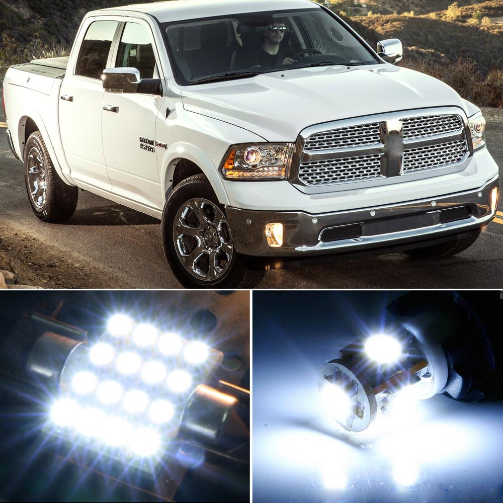 10PCS Green SMD LED Lights Interior Package Kit for Dodge RAM 1500 2500 2001 PL