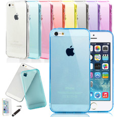 Ultra Thin Semi Transparent Soft Gel Case for iPhone 5 / 5S