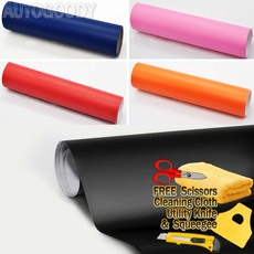 Premium Matte Flat Color Vinyl Film Wrap Sticker Decal Bubble Free Air Release