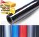 5D Premium HIGH GLOSS Black Carbon Fiber Vinyl Film Wrap Bubble Free Air Release