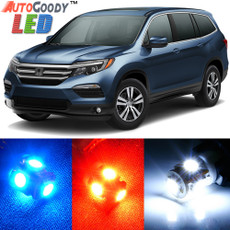 Premium Interior LED Lights Package Upgrade for Honda Pilot (2016-2019)