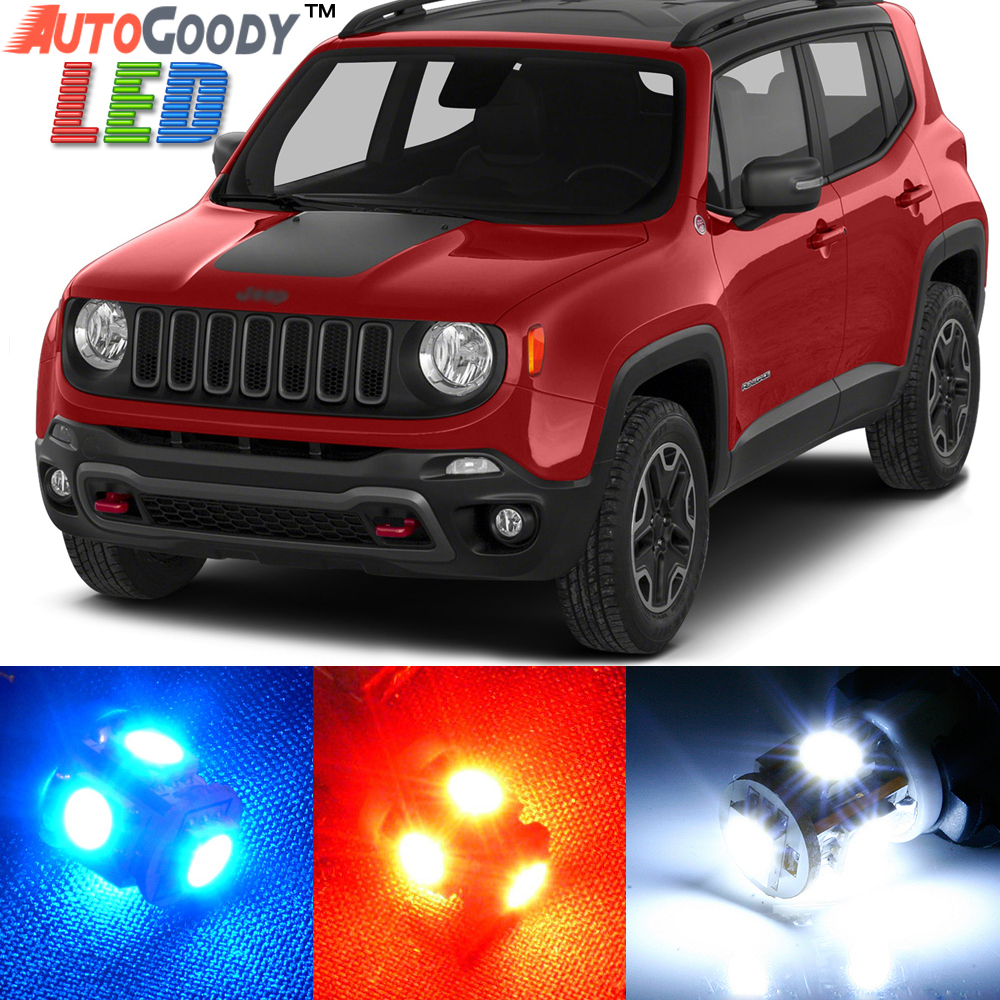 Led Lights Jeep Renegade: Premium Interior LED Lights Package Upgrade For Jeep