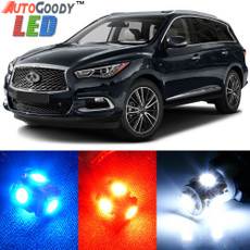 Premium Interior LED Lights Package Upgrade for Infiniti QX50 QX60 (2013-2019)