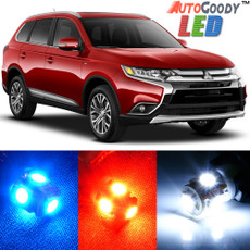 Premium Interior LED Lights Package Upgrade for Mitsubishi Outlander (2013-2019)