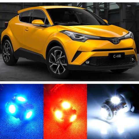 Premium Interior LED Lights Package Upgrade for Toyota C-HR CHR (2018-2019)