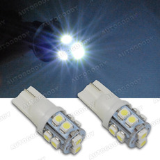 T10 Wedge LED Bulbs 10-SMD