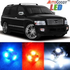 Premium Interior LED Lights Package Upgrade for Infiniti QX56 (2004-2010)